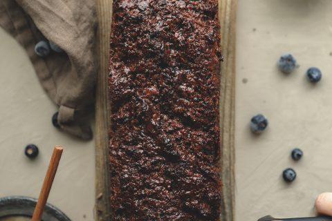 Hunajainen-mustikkasaaristolaisleipä